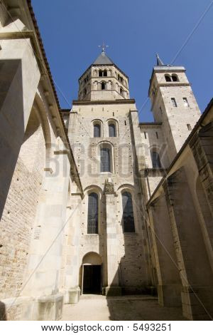 Abbey Of Cluny Vertical