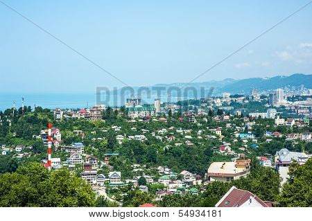 Buildings On The Coast Of Sochi, Bird's-eye View