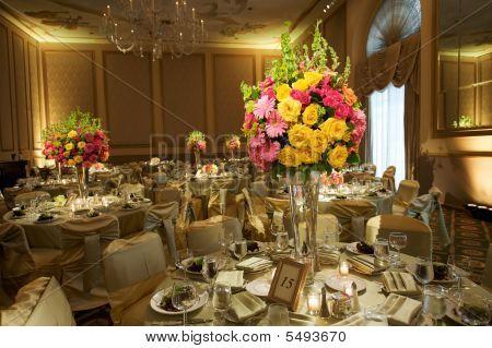 High End Wedding Reception