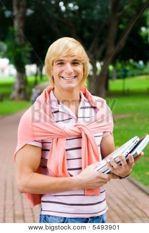 Attractive Male Student