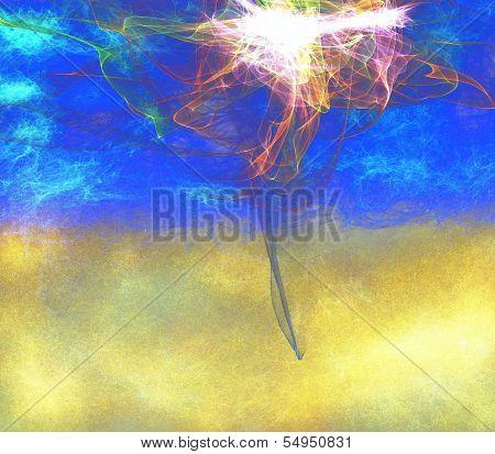 Abstract Digital Backdrop