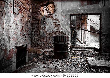 Abandon Industrial Interior