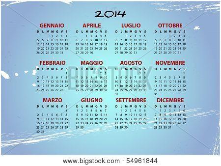 2014 Vintage Italian