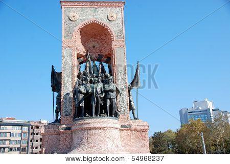 Independence Monument commemorating Kemal Ataturk