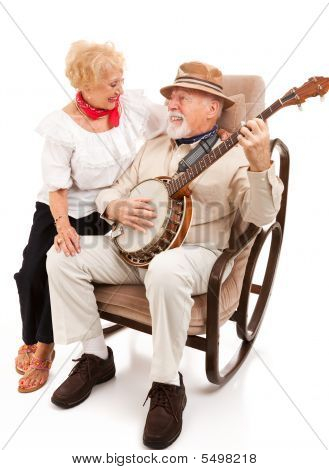 Serenading His Sweetie