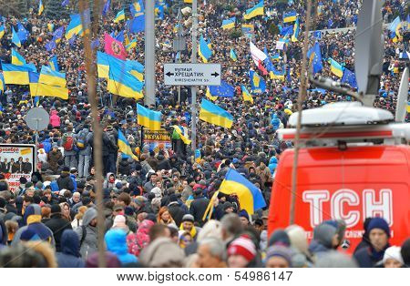 Meeting On The Maidan Nezalezhnosti