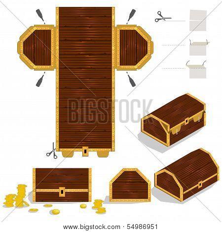 Treasure Chest Packaging Box Design