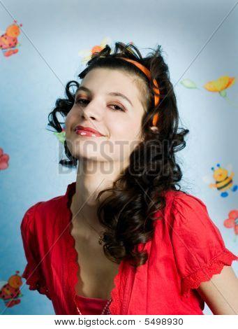 Retro-style Girl