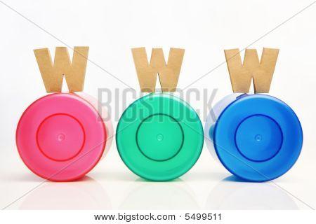 Golden Www On Rbg Tube