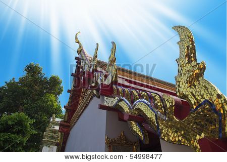 Buddhist Temple, Wat Pho In Thailand