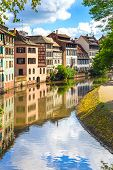 pic of petition  - Strasbourg water canal in Petite France area - JPG