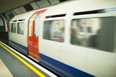 foto of railcar  - Underground in London - JPG