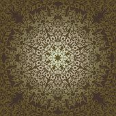 image of ottoman  - Vintage Background Traditional Ottoman motifs - JPG