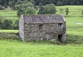 stock photo of swales  - Field barn - JPG