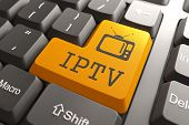 stock photo of televisor  - IPTV  - JPG