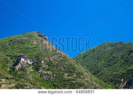 Simonos Petra monastery on Holy mount Athos