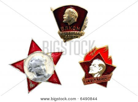 Badges Of USSR
