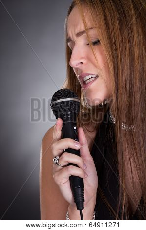 Young Female Singer