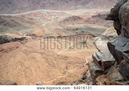 Egypt,  Moses Mountain. Way To The Top
