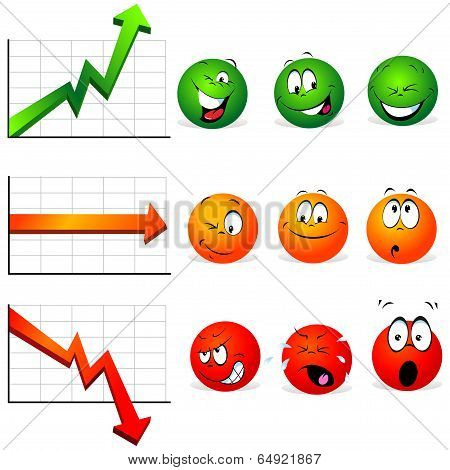 Graphs Of Stability, Profit And Falls