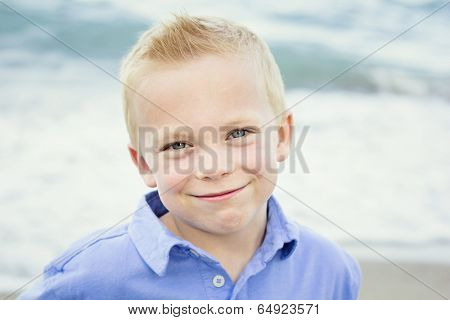 Beautiful Portrait of a Happy little boy