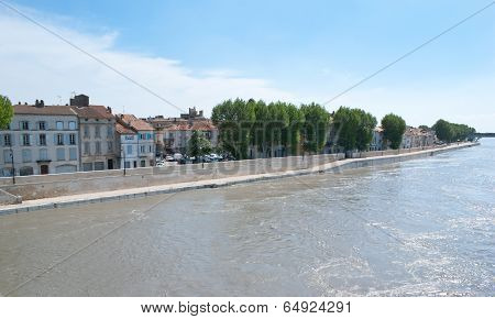 The Cityscape Of Arles