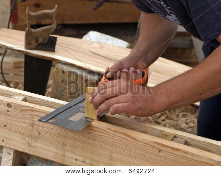 carpenters hand