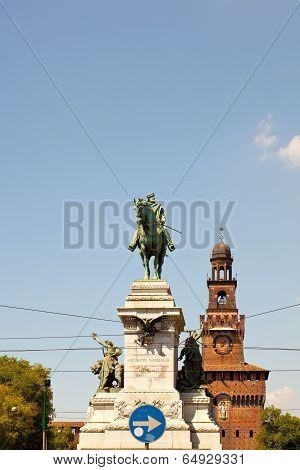 Garibaldi Monument, Milan