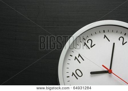 Clock and Blackboard