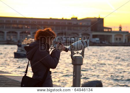 Photographer In Trieste