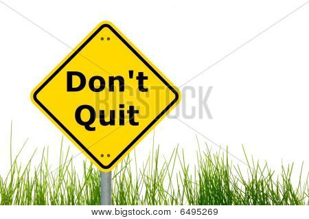 Dont Quit Motivation