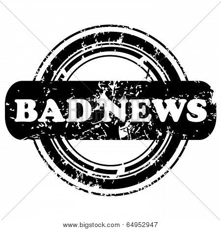 Bad News Stamp