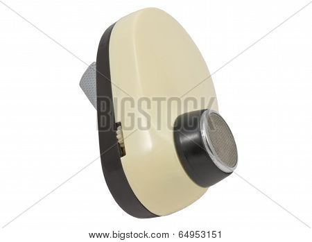 Shaver Isolated Over White