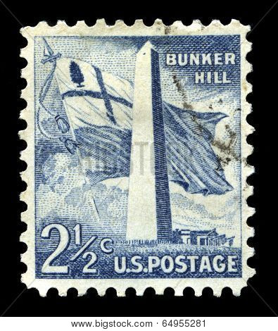 Bunker Hill Us Postage Stamp