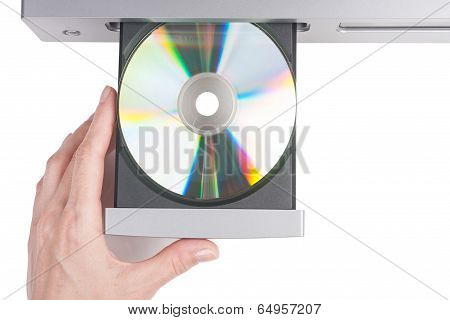 Inserting A Disc Into A Cd Player