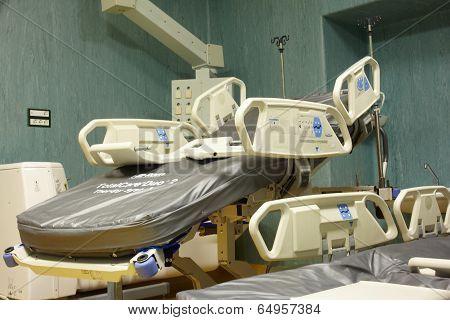 Mobile And Adjustable Hospital Stretcher