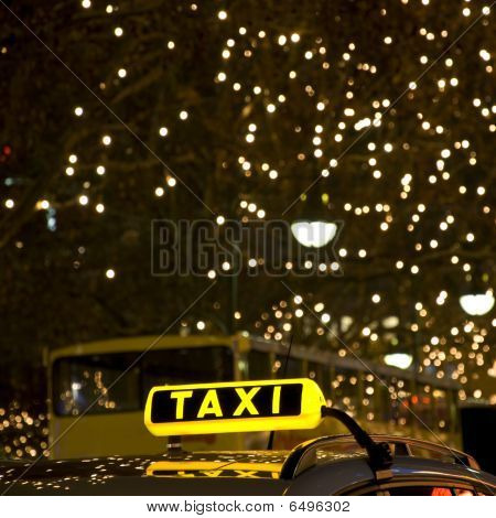 German Taxi Sign