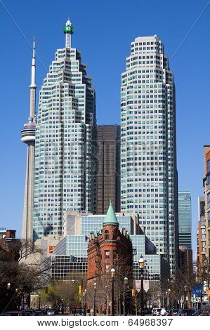 Flatiron, Cn Tower And Td Towers