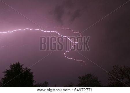 Lightning in Missouri