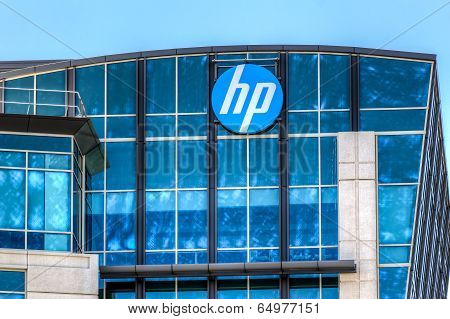 Hewlett-packard Corporate Headquarters In Silicon Valley