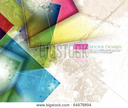 Abstract Background For Design - Vector Illustration