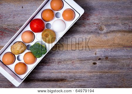 Storage And Management Of Food In The Fridge