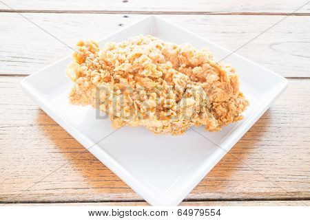 Piece Of Crispy Fried Chicken