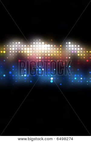Multicolor Abstract Background With A Pattern From Dots