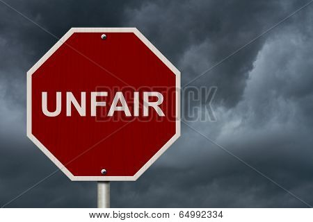 Unfair Sign