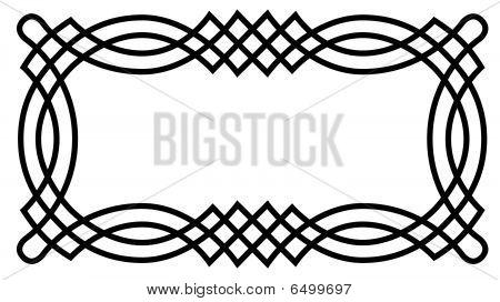 Geometric Pattern Frame