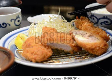 Chopped Katsu Deep Fried Pork