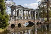 foto of sankt-peterburg  - Marble bridge in the Catherine Park Sankt - JPG
