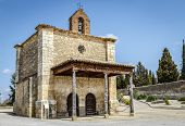 image of chapels  - Berlanga de Duero Chapel of Our Lady of Solitude Soria Province Castile and Leon Spain - JPG