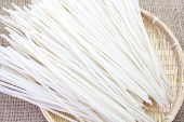 foto of rice noodles  - close  - JPG